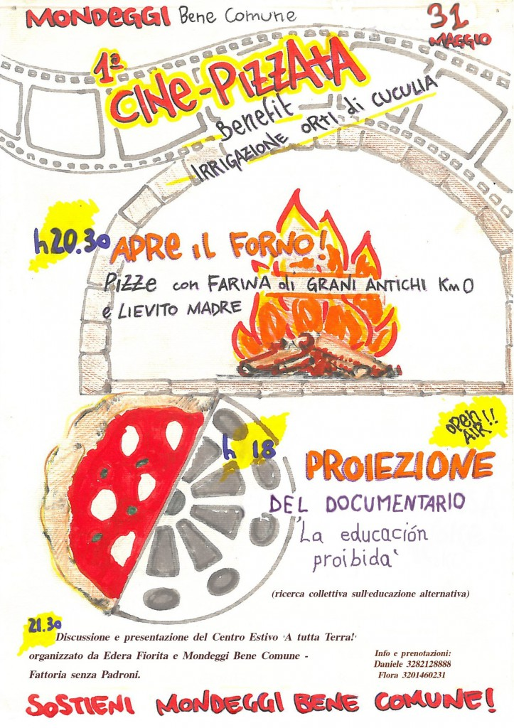 Pizzata 31 maggio